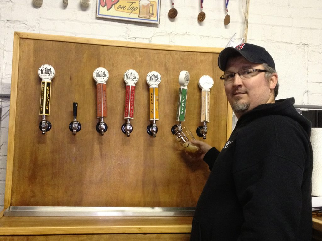 triangle brewery rick tufts